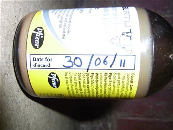 2 antibacterials use by date